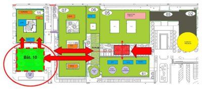 Aménagement des espaces d'enseignement pour l'ISAE