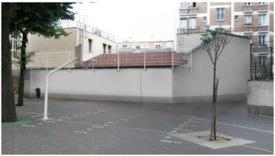 Réhabilitation structurelle de logements pour le Ministère de l'Intérieur, après les travaux