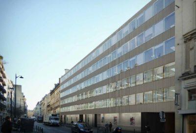Revalorisation architecturale et énergétique de la façade d'un immeuble tertiaire