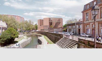 Construction de l'école d'économie de Toulouse